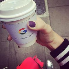Annabel+Riley+snapped+a+picture+of+her+coffee+cup+sleeve,+which+has+the+Google+logo+on+it+with+the+address+145-149+Tottenham+Court+Road,+which+is+somewhere+in+London.+It+actually+is+at+the+Google+shop