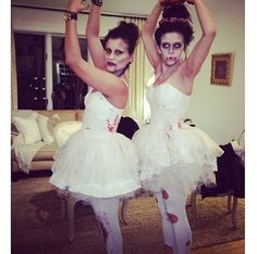 Zombie Ballerina Makeup Time Pinterest Costumes 13 Ways Wear White