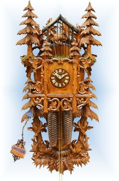 40 best cuckoo clocks traditional hand carved images on pinterest