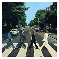 My favourite album from The Beatles -'Abbey Road'. When true rock gods walked the earth - or in this case, the zebra crossing.