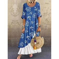 LightInTheBox - Global Online Shopping for Dresses, Home & Garden, Electronics, Wedding Apparel Long Sleeve Cotton Dress, Maxi Dress With Sleeves, Short Sleeve Dresses, Chiffon Dress, Short Sleeves, Womens Swing Dress, Womens T Shirt Dress, Tee Dress, Women's A Line Dresses