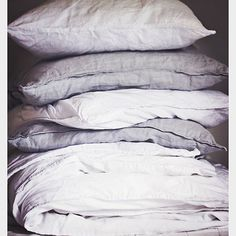 #beautiful #linen #linens. #grey #white #simple #cosy #home #decor #delights #weekend #simplepleasures #gorgeous #love #stenmarkstyle #blogger #style