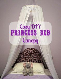 Easy DIY Princess Canopy Princess Canopy Bed, Princess Room, Princess Beds, Mint Room, Diy Canopy, Canopy Bedroom, Backyard Canopy, Hula Hoop Canopy, Ikea Canopy