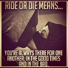Ride Or Die #gangsta #love #couples ❤ liked on Polyvore featuring pictures, phrase, quotes, saying and text