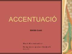 NORMES D'ACCENTUACIÓ Norman, Catalan Language, National Language, Learn English, Mood, Teaching, Kids Psychology, Speech Language Therapy, Learning English