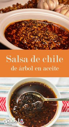Chili Sauce Recipe, Hot Sauce Recipes, Mexican Salsa Recipes, Mexican Dishes, Barbacoa, Carnitas, Easy Cooking, Cooking Recipes, Sauces