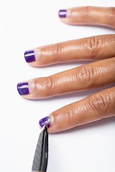 3 Step Nail Art Ideas You Can Totally Do Yourself