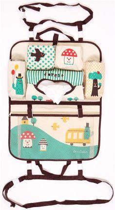 Decole polka dot mushroom cactus car bag Japan - other cute things - Stationery - kawaii shop modeS4u