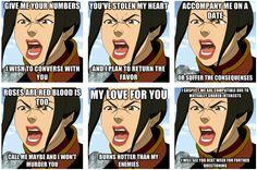 Azula's Loving Quotes... XD