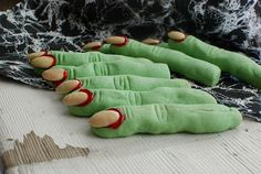 I wish I had found this before Halloween. I suppose I could try to adapt them for other holidays, but I just don't think bloody Santa fingers will be as big of a hit.