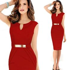 2015 Women Dress Casual Slim Sexy Patchwork V-neck Bodycon Pencil OL sho Sleeve with leather Party Dresse Workwear > Nice plus size clothing shop for everybody