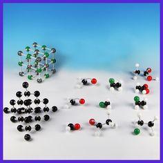 Funny Toy Gag Interesing Toy 121PCS XMM-005 Molecular Model Organic Chemistry Science Atom Molecules Tool Set Educational