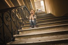 a little bored boy Stairs, Children, Boys, Young Children, Baby Boys, Stairway, Kids, Staircases, Senior Boys