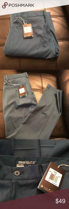 Nike Golf Pants Brand New $82. Teal 30x32 Nike Golf Pants Brand New with tags $82. Dri-fit Teal size 30x32 Nike Pants