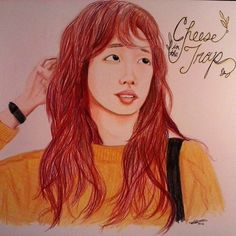 Seol from #cheeseinthetrap drawn in color pencil #dfcheeseinthetrap @dramafever #fanart Good luck to everyone that entered the contest ^~° I really enjoyed this drama!!