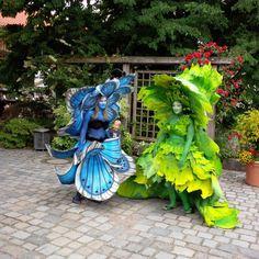 Fest der Naturgeister im Botanischen Garten Augsburg 2013