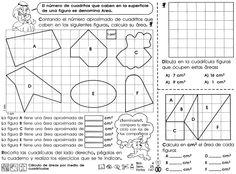 Cálculo de áreas por medio de cuadrículas