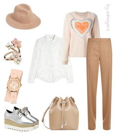 """""""Hey, it's me!"""" by aakiegera on Polyvore featuring мода, Rebecca Taylor, Christopher Kane, MaxMara, MANGO, Michele, Accessorize и RHYTHM"""