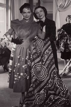 Madame Carmen de Tommaso 1909 France Couturier established Carven in 1945 at work (1940).