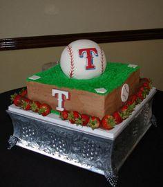 baseball grooms cake - Google Search