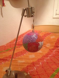 bola echa con hama beads