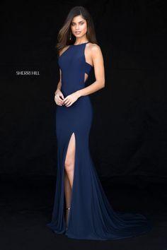 e816dd17a1 Long Formal Sherri Hill Prom Dress with Train