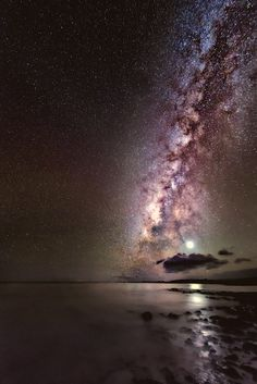 Venus and the Milky Way