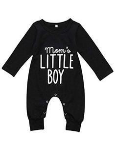 Newborn Infant Baby Boy Long Sleeve Bodysuit Romper Jumpsuit Outfits  Clothes Clothing 1de6d8863