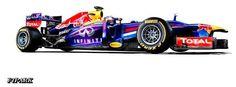 #F1 #RedBull #RedBullRacing #RB9 #RedBullRB9 #F12013 #F1CarLaunch #F1PARK