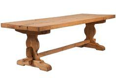 Kim Fiscus - Bleached Oak Trestle Table