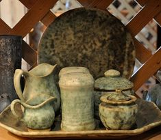Peter's Pottery.. Straight from Mississippi clay! my fave! Can't wait to add to my collection.