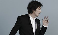 Paul McCartney at 71: still here, there and everywhere // looks like an SNL photo. EXCELLENT SHOT ! --- Yum. . . .
