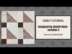 Video tutorial: Kaleidoscope blocks - quick and easy quilting - YouTube