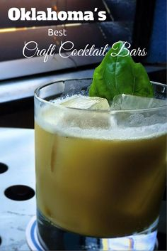 Premium Ingredients + Inventive Recipes + Awesome Atmospheres = Oklahoma's Best Craft Cocktail Bars