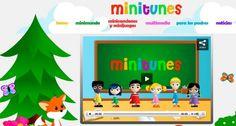 Minitunes, aplicación para niños para aprender con canciones