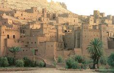 Kasbah di Ait Benhaddou _ http://granellidisabbia-najim.blogspot.com/2011/09/gli-ksour-e-le-kasbeh-marocchine.html
