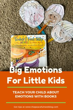 the book Today I feel Silly to teach big emotions to little kids. Simple preschool and kindergarten hands on activities to explore feelings. Free printables to use in your lesson. Fun and simple way to teach emotions to little kids. Emotions Preschool, Preschool Science, Science Experiments Kids, Science Activities, Kindergarten Activities, Peaceful Parenting, Gentle Parenting, Mindful Parenting, Parenting Books