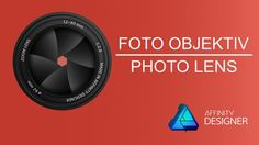 09 Foto Objektiv mit Symbolen – Affinity Designer