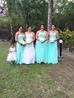 Bridesmaids And flowergirl