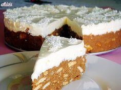 Cake until you say biscuit! Greek Sweets, Greek Desserts, Cold Desserts, Greek Recipes, Easy Sweets, Oreo Pops, No Bake Cake, Food Inspiration, Food And Drink