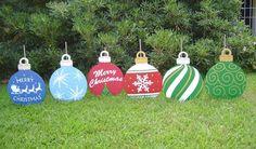 10 Artesanatos de Natal para o Jardim