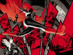 Batwoman by J.H. Williams III *