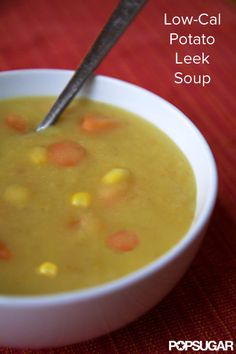 Creamy Potato Leek Soup Without the Cream