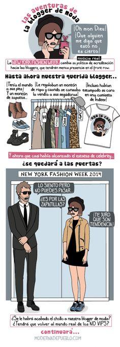 Las aventuras de la blogger de moda