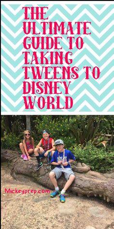 Taking Tweens to Disney world