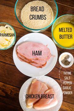 Simple preparation plus quality ingredients makes Easy Baked Chicken Cordon Bleu a fabulous mid-week dinner, fancy enough for company, easy enough for every day! Baked Chicken Cordon Bleu, Easy Baked Chicken, Cheesy Chicken, Grilled Chicken, Healthy Low Calorie Dinner, Low Carb Chicken Recipes, Keto, Food Dishes, Hamburgers