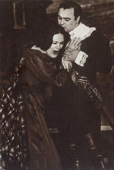 Feb. 1965, Joan Sutherland and Luciano Pavarotti perform in Florida Grand Opera's production of Lucia di Lammermoor