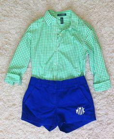Top- Ralph Lauren Shorts- Jcrew