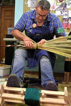 Mark Hendry Appalachian Broom Making