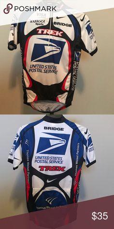 Trek USPS Team Jersey - MD Trek United States Postal Service Team Riding Jersey - MD  Never been worn. Trek Other